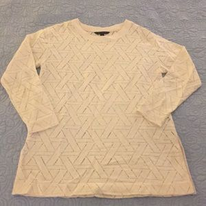 Banana Republic Geometric Pattern Sweater